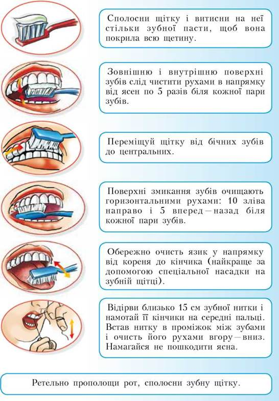 Для догляду за ротовою порожниною тобі знадобляться зубна щітка з м якою  щетиною 09576145d21b7