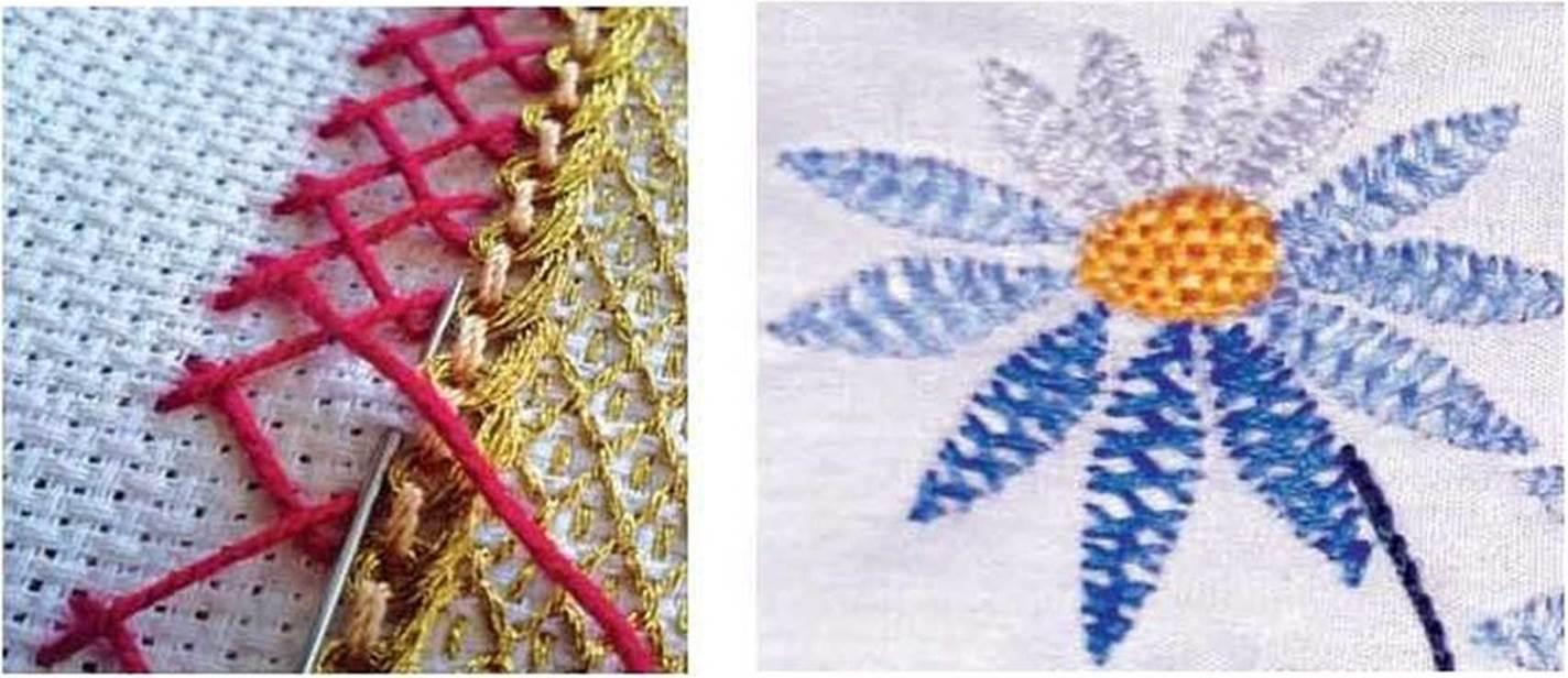 «Козлик» широко використовують як шов для обрамлення країв вишивки 250bb2a6c12ca